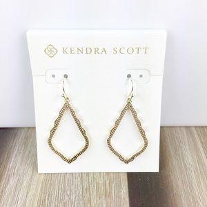 Kendra Scott Sophia gold earrings